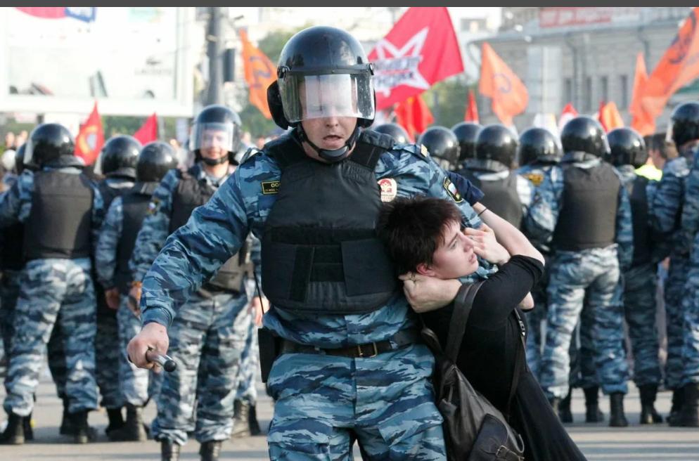 Митинг задержания