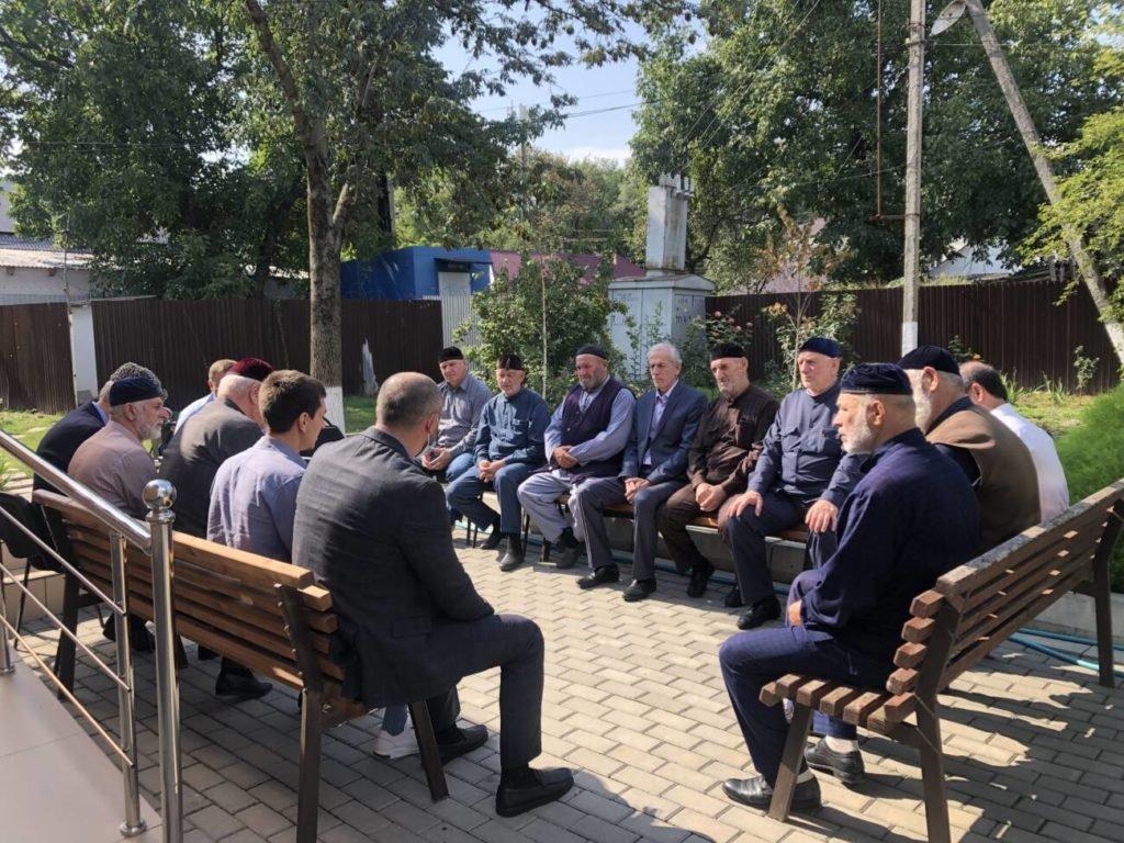 Встреча с религиозными деятелями ассиновское